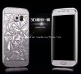 Laser Engraving Metal Cell Phone Caso dell'alluminio Bumper+Acrylic Back Cover per Samsung S6 Mobile Cover
