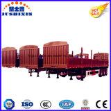 3つの車軸棒の三車軸塀の輸送の貨物トレーラー