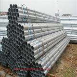 Galvanizado en caliente redondas de acero Tubos / Tubos de cruce como material de construcción