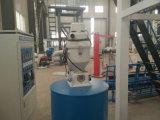 LDPE do HDPE do ABA máquina da extrusão da película da co-extrusão de três camadas
