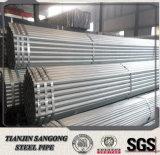 ASTM A500 GR. un tubo pre galvanizado del acero del ms carbón