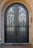 Парадные входы входа ковки чугуна Sucurity орнаментальные для дома
