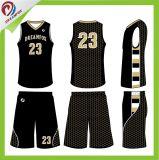 Modèle uniforme 2017 de basket-ball du Jersey de basket-ball fait sur commande de Philippines