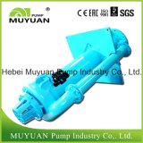 Efluência de esmagamento mineral resistente que segura a bomba de depósito vertical