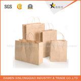 Bolso respetuoso del medio ambiente del regalo de la maneta de la cuerda del embalaje de papel de la alta calidad