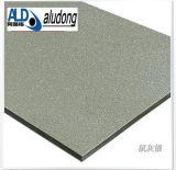 PE /PVDF покрывая алюминиевую составную панель (серый цвет крысы ZWM-8863 серебряный)