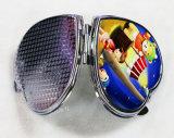 Зеркало компакта сублимации красивейшего карманного зеркала Жар-Форменный пустое