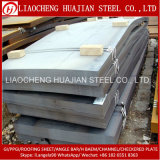 Placa de acero suave laminada en caliente de carbón hecha en China