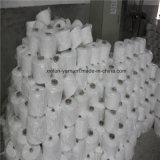 Ne 32s/1 Raw White Ring Spun Polyester Yarn