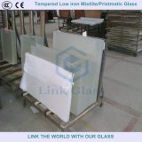 3.2mm Tempered Ultra Clear Float Glass met AR Coating voor Zonnepaneel