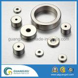 Magneten NdFeB van de Boog van de Deklaag van Zn de Gesinterde Segment voor Motor