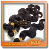 Выдвижение волос объемной волны хорошего качества перуанское
