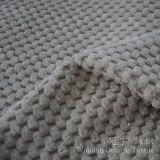 Tissu en nylon du velours côtelé 6W de polyester pour la décoration