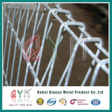 Brcの溶接塀/ロール/Powderのコートの安全塀またはBrcの鉄の鉄条網を囲うロール上