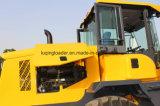 Máquina do pavimento 3 toneladas de carregador com escavadora da lâmina
