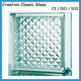 Mattone di vetro libero per il blocchetto di vetro della parete