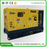 Dieselset des generator-80kvacummins mit schalldichtem Kabinendach