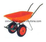 Carrinho de mão de roda quente do mercado de Rússia da venda de duas rodas