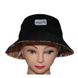 Crear su propio sombrero del compartimiento para requisitos particulares del algodón del negro de la insignia