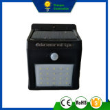 2W luz solar de la pared del sensor LED