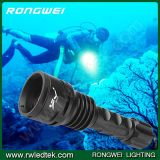 携帯用Rechargeable Flashlight 2stalls IP67 35W Powerful Torch