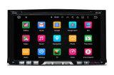 Lettore DVD radiofonico universale dell'automobile del Android 2DIN GPS di memoria del quadrato