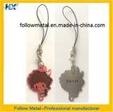 Изготовленный на заказ металл Keychain с по-разному логосом печатание