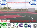 Superficie colorida del suelo de la corte del deporte del uso multi