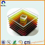 多彩な有機性ガラスのPolymethylメタクリル酸塩のプレキシガラスの風防ガラスのボード