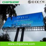 Exhibición de LED al aire libre de Chipshow AV26 que hace publicidad de la exhibición de LED