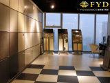 極度の白く黒い一見の磁器は建築材料の装飾の床タイルの磁器のタイルをタイルを張る