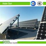 Кронштейны земного держателя солнечные для установки панели солнечных батарей