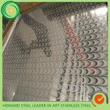 Дешевое зеркало 201 SGS 304 цены вытравило нержавеющую сталь для украшения панели стены