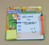 Blocos de notas de papel magnéticos personalizados da almofada de memorando para o refrigerador