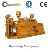 Potência do motor de gás de metano 300kw Sistema de gerador de biogás silencioso Canopy silencioso Gerador elétrico