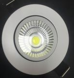 Plafond encastré LED Round Panel Lighting Lampe AC85-265V