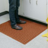 Antibeleg-nicht Schienen-Wasser-Beweis-Toiletten-Badezimmer-Bad-Gummifußboden-Matten