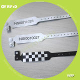 Wristbands UHF UHF RFID Wristbanduhf Wrpp для празднества нот (GYRFID)