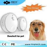 Linptech Eco 각자 힘 건전지 코드가 없는 무선 지능적인 2개의 단추 동물성 애완 동물 고양이 개 현관의 벨 없음