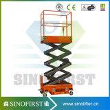 4m Scissor lichtunempfindlicher QualitätsPortable Aufzug-Antennen-Plattformen