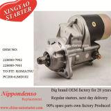 24V 4.5kw 10t Gang-Verkleinerungs-Starter für KOMATSU-Exkavator 228000-7902