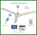Bester Solar-Gleichstrom-Decken-Ventilator für Pakistan-Markt 350rpm
