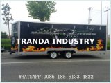 (CE) camion mobile tout neuf de nourriture d'approvisionnement promotionnel d'usine