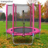 Alta qualidade: Trampoline ao ar livre da aptidão de 6FT com rede de segurança
