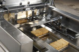 웨이퍼 건빵 자동적인 전면 감싸는 유형 포장 기계
