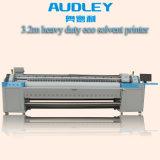 Impresora solvente vendedora superior Adl-H3200 del formato grande de los 3.2m Eco