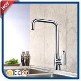 Chrome de mélangeur de bassin de taraud de bassin de robinet de cuisine terminé (17111S)