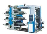 Zes-kleur Flexographic Machine van de Druk