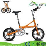 Vélo se pliant adulte léger de ville de 16 pouces