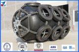 Pára-choques inflados de Yokahama com rede do pneu